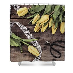 Shower Curtain featuring the photograph Tulips Of Spring by Kim Hojnacki