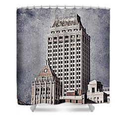 Tulsa Art Deco I Shower Curtain by Tamyra Ayles