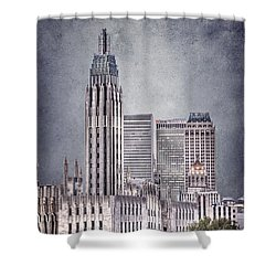 Tulsa Art Deco II Shower Curtain