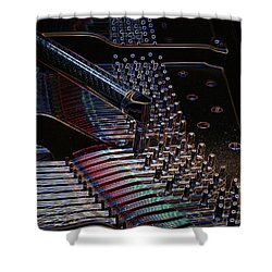 Tuning A Steinway For Jazz Shower Curtain
