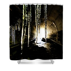 Tunnel Icicles Shower Curtain