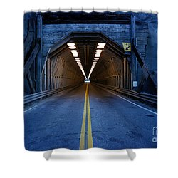 Tunnel Near Ential Washington Shower Curtain