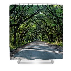Shower Curtain featuring the photograph Tunnel On Botany Bay by Jon Glaser
