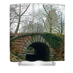 Tunnel On Pathway Shower Curtain