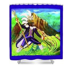 Tupac Amaru II Shower Curtain