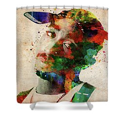 Tupac Shakur Shower Curtain