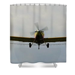 Turbo Thrush 3 Shower Curtain