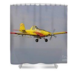 Turbo Trush 1 Shower Curtain