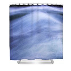 Shower Curtain featuring the photograph Turbulence 3 by Mike Eingle