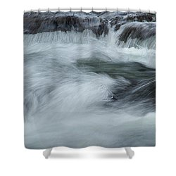 Shower Curtain featuring the photograph Turbulence  by Mike Eingle