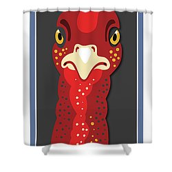 Turkey Stare Shower Curtain