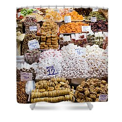 Turkish Delight In Istanbul Shower Curtain by Artur Bogacki