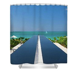 Turks And Caicos Shower Curtain