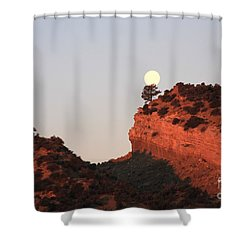 Turk's Moon Shower Curtain