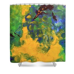 Turmoil Shower Curtain by Nancy Czejkowski