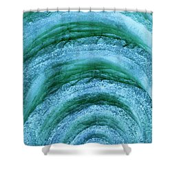 Shower Curtain featuring the digital art Turmoil by Wendy Wilton
