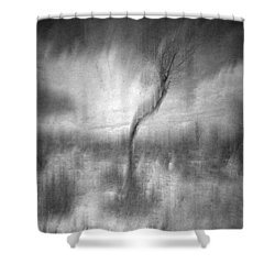 Turn Around  Shower Curtain