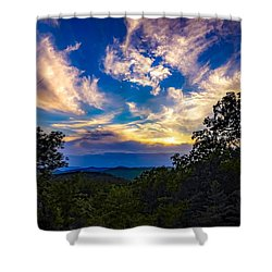 Shower Curtain featuring the photograph Turn Down The Lights. by Kendall McKernon