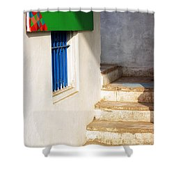 Shower Curtain featuring the photograph Turn Left by Prakash Ghai