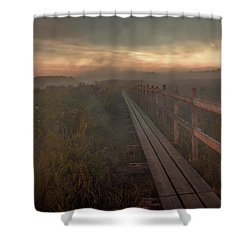 Shower Curtain featuring the photograph Turn To Infinity #g6 by Leif Sohlman
