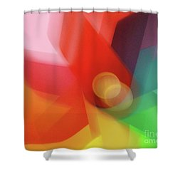 Turn Your Luck Around Shower Curtain
