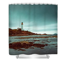 Turnberry Lighthouse Shower Curtain
