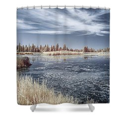 Turnbull Waters Shower Curtain