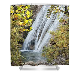 Turner Falls In The Morning Fall Shower Curtain