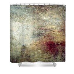 Turner: Sun Setting, C1840 Shower Curtain by Granger