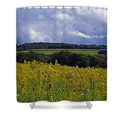 Turning The Page Shower Curtain