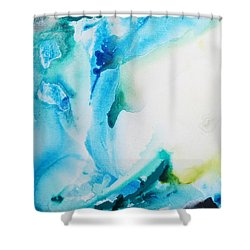 Turquoise Delight Shower Curtain
