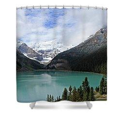 Turquoise Lake Shower Curtain