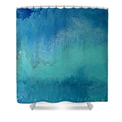 Turquoise Ocean Shower Curtain