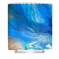 Spring Of Life Shower Curtain