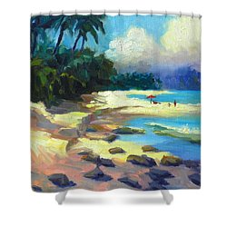 Turtle Beach Shower Curtain