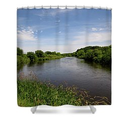 Shower Curtain featuring the photograph Turtle Creek by Kimberly Mackowski
