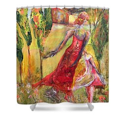 Tuscan Daughter Shower Curtain