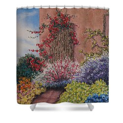 Tuscan Delusions Shower Curtain