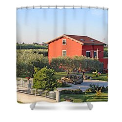 Tuscan Home Shower Curtain by Allan Levin