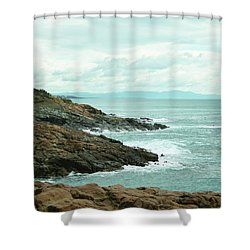 Tuscan Seaside Shower Curtain