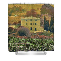 Tuscan Villa Shower Curtain