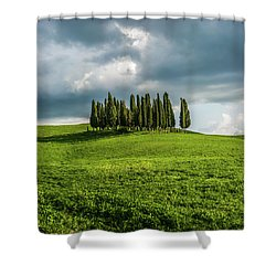 Tuscan Wonderland - Val D Orcia Shower Curtain