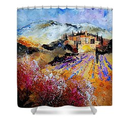 Tuscany 56 Shower Curtain by Pol Ledent
