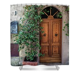 Tuscany Door Shower Curtain