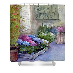 Tuscany Florist Shower Curtain