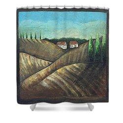 Tuscany Trees Shower Curtain