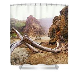 Tusk West Coast Image Art Shower Curtain