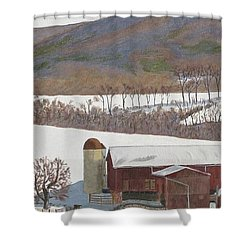 Tussey Mountain View Shower Curtain