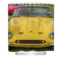Shower Curtain featuring the photograph Tvr Vixen S2 1969 by Adrian Evans