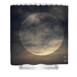 Twas The Night Before A Full Moon Shower Curtain